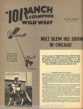 101 Ranch Stampede Wild West Show + Rodeo Genealogy