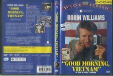GOOD MORNING VIETNAM  SIAE ROSA Robin Williams DVD USATO