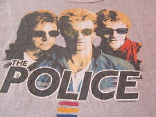 THE POLICE SYNCHRONICITY  1983 TEE VINTAGE