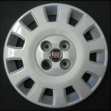 """FIAT IDEA stile ONE 14"""" Copriruota Coprimozzo Red BADGE FT 720 a"""