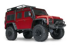 Traxxas trx-4 Scale and Trail 4 wdcrawler rouge TQi 2.4ghz RTR 1:10