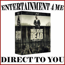 THE WALKING DEAD - COMPLETE SEASONS 1 2 3 4 5 & 6 **BRAND NEW BLURAY BOXSET**