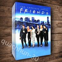 FRIENDS THE COMPLETE SERIES DVD SEASONS 1-10 BOX SET 32 DISCS SET