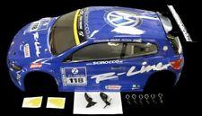 Carson 1:10 Karosserie VW Scirocco blau X10E - 500800086