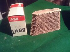 Rough Stone Style Bridge Support Pier OO HO Scale Tapered Stone Type 83mm Tall