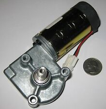 150 RPM Heavy Duty Metal 12 V DC Right Angle Gearhead Motor - 300 RPM @ 24 VDC