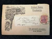 Deutsches Reich 30.09.1922 - MiNr. 198 Postkarte nach England  Nr.3