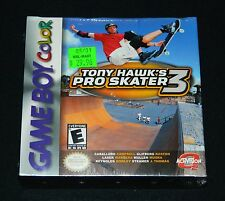Tony Hawk's Pro Skater 3 (Nintendo Game Boy Color, 2001) GBC - Brand New, Sealed