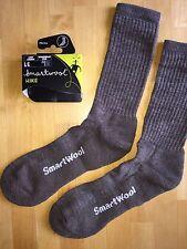 SmartWool Brilliant HIKE Light Crew Socks – Taupe, Backpack Trek – Men/Women LG