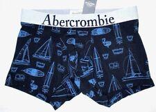 MENS ABERCROMBIE & FITCH SAILBOAT BLUE BOXER BRIEF SIZE M (31/32)