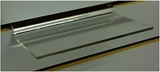 Clear Slatwall Shelves 3 Inch X 6 Inch Set Of 4 Retail Display Or Home Use