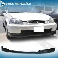 For 96-98 Honda Civic EK JDM CTR Lower Front Bumper Lip Spoiler Bodykit PU