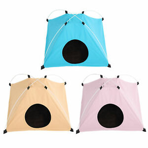 Foldable Warm Soft Dog House Pet Bed Tent Cat Kitten Puppy Sleeping Playing Cage