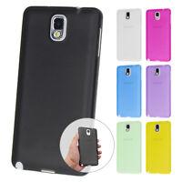 UltraSlim Case Samsung Note 3 FeinMatt Schutz Hülle Skin Cover Schale Folie