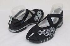Ahnu Yoga Split Black Strappy Yoga Sport Shoes Flats Women's Size 8 US