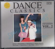 DANCE CLASSICS POP ED V2 3-CD  Queen David Bowie Kim Wilde Yazoo LONG VERSIONS