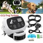 Wireless Pet 1/2/3 Dog Electronic Fence No-Wire Training Containment System 500M