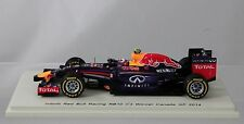1/43 Spark - D.Ricciardo / Red Bull RB10 / 2014 Canada GP Winner