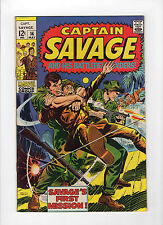 Capt. Savage and His Battlefield Raiders #14 (May 1969, Marvel) - Very Fine