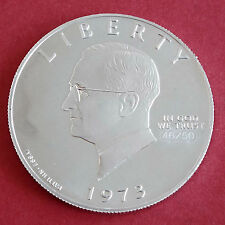 Harry Truman S 1973 IN ALLUMINIO PROVA ESSAI PATTERN DOLLAR-CONIO 50