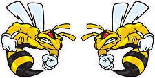 "Ski-Doo Angry Bee Pairs Decal 5"" Each"