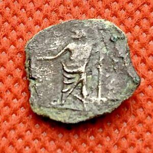164 PTOLEMAIC KINGDOM OF EGYPT - CLEOPATRA VII 51-30 B.C. - 15mm