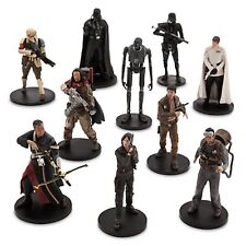 10 pc DELUXE ROGUE ONE A STAR WARS STORY Mini Doll PlaySet Toy Action Figures