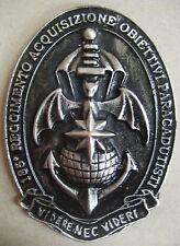 Fermacarte Commemorativo 185° REGGIMENTO PARACADUTISTI R.A.O FOLGORE - (COMFOSE)