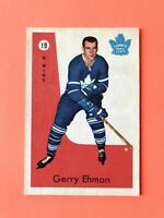 Gerry Ehman 1959-60 Parkhurst Hockey Card #19 Toronto Maple Leafs