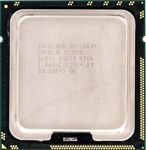 Intel Xeon L5609 (SLBVJ) 1.86GHz 4-Core LGA1366 CPU