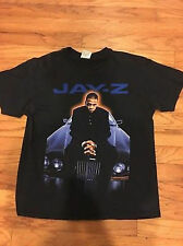 Vtg 90s Jay-Z-Rocafella-Records-T-Shirt-Rare-Black##