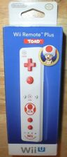 Nintendo Wii REMOTE PLUS Motion Controller TOAD Blue for Wii U OEM NEW in BOX!