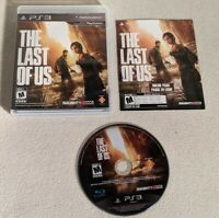 The Last of Us (Sony PlayStation 3, 2013) PS3 Game Complete CIB With Manual EUC