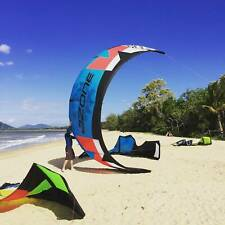 KiteSurfing Kite - Bars- Harness - Pump - Carry Bag BRAND NEW