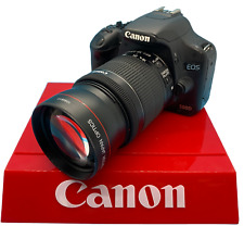 CANON REBEL EOS T5I T5 TELEPHOTO LENS WORKS ON ALL CANON EOS 58MM THREAD