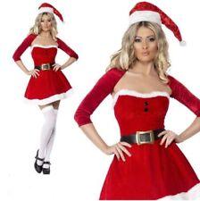 Déguisements costumes rouge pour femme, Père Noël