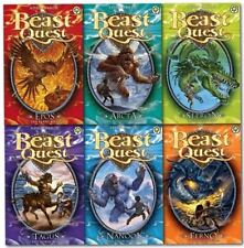 Beast Quest Series 1 Collection - 6 Books RRP £29.94 (1. Ferno the Fire Dragon;