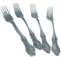 4 Orleans 1964 Dinner Forks INTERNATIONAL DEEPSILVER SILVERPLATE