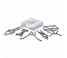 Axial 1/10 SCX10 Honcho Clear Rear Roll Cage Flat Bed Tray Set #AX80046