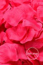 500-10000pcs Silk Rose Petals Hot Pink Artificial Flowers Wedding Party Decor
