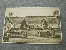 Early Wiltshire postcard - Grange Barn - Bradford on Avon