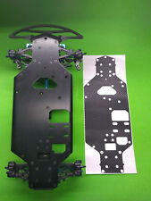 ASSOCIATED NTC3 NITRO TC3 SKIN BLACK CARBON FIBER protector