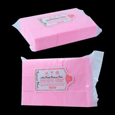 900x Lint Free Nail Wipes Pads Art Gel Acrylic Polish Remover Pedicure Manicure.