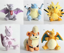 Pokemon Growlithe Zapdos Charizard Blastoise Mewtwo Plush filling Christmas gift