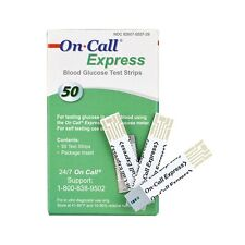 On Call Express Diabetic Testing Strips 50ct