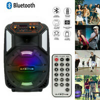 1000W Party Bluetooth Speaker Stereo Bass USB Rechargeable with LED Display US