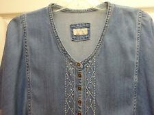 RRP £ 99 Wrap London Designer Estate Jeans Bootcut Rosa UK 10 14 18 22-NUOVO