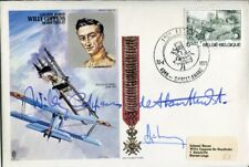 Belgian Great War ace pilot Willy Coppens 37 victories signed cover