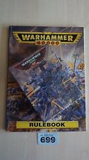LIMITED EDITION SPACE MARINE CAPTAIN WH40K 25TH ANNIVERSARY NISB & RULEBOOK #699