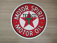 Big Patch TEXACO MOTOR OIL MOTOR SPIRIT Embroidered Patch/Sew-on Jacket Jean